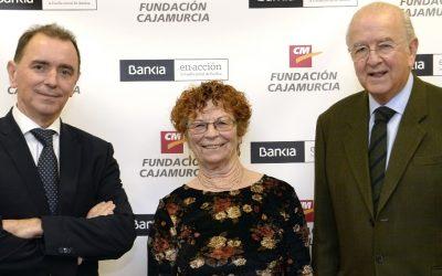 Firma del convenio de la Fundación Cajamurcia y Bankia con AFAMUR.
